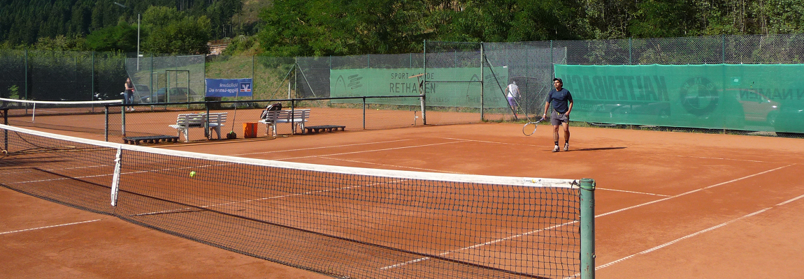 Tennis bei Kaiserwetter
