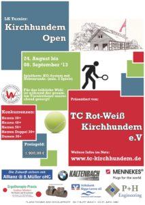Plakat zum Hundem-Lenne-Cup 2013