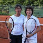 Damen Doppel40+ Dagmar Schröder u. Lone Homringhaus Stadtmeisterschaften 2010