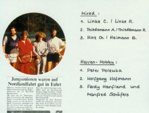Clubmeisterschaften 1985