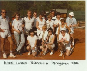 Mixed Turnier Pfingsten 1985