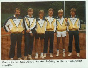 Aufstieg in 1.KK 1986