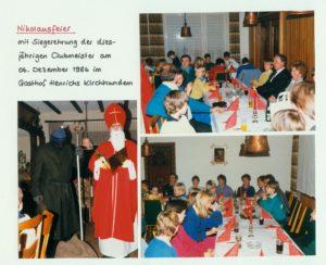 Nikolausfeier 1986