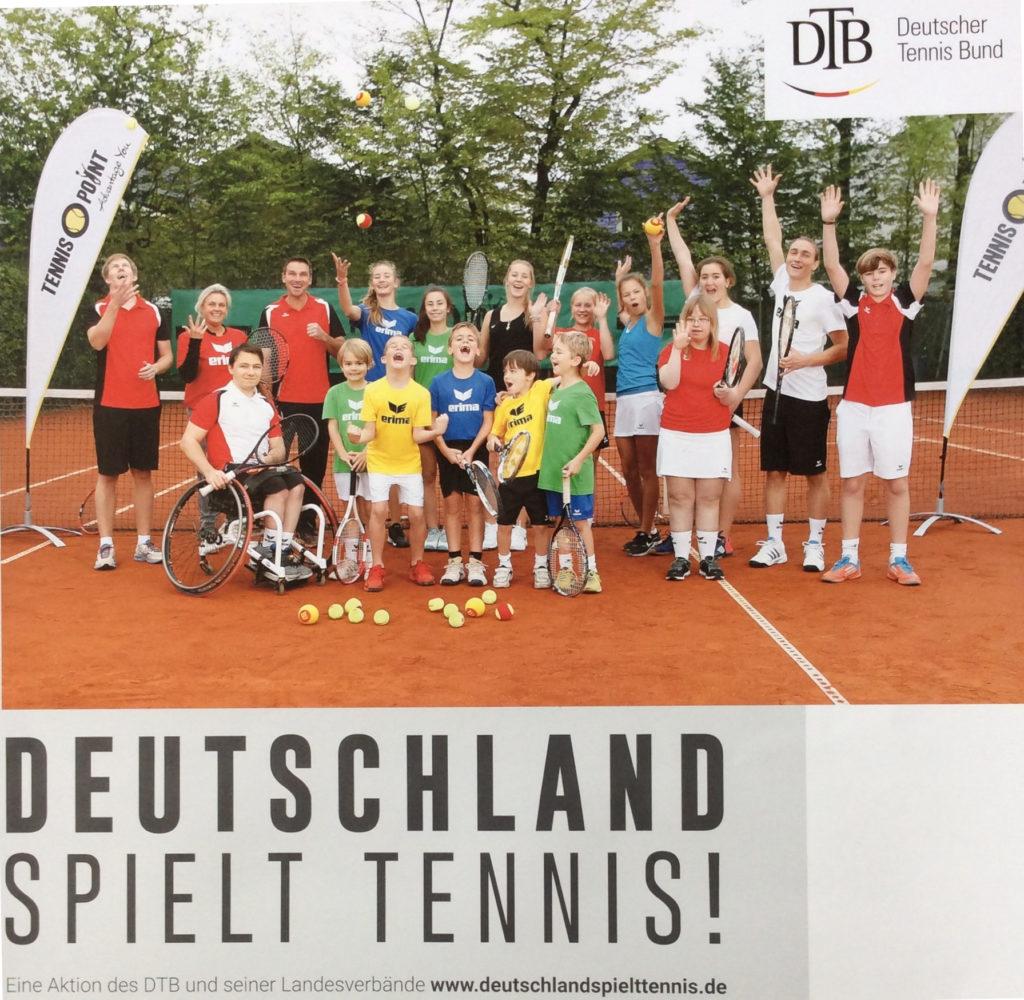 FullSizeRender, Deutschland spielt Tennis